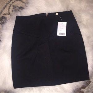 Silence + noise black mini skirt w/ pockets NEW